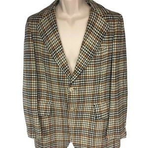 Men's Vintage Mavest Harris Tweed 2 Button Blazer